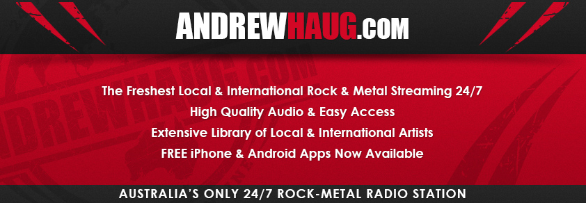 AndrewHaug.com: Australia's only 24/7 Rock-Metal Radio Station