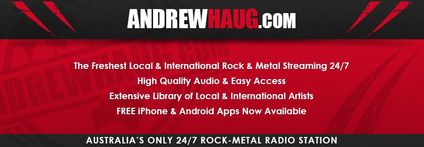 AndrewHaug.com: Australia's only 24/7 Rock-Metal Radio Station