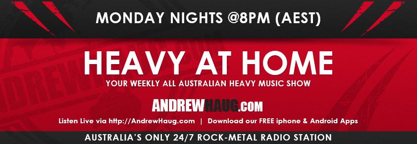 Heayy at Home Monday Nights at 8PM